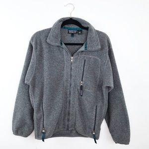 Patagonia vintage synchilla fleece jacket gray